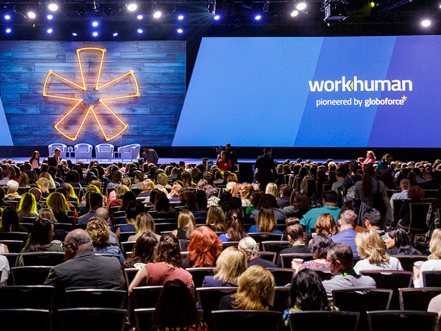 Picture of the Workhuman Live conference